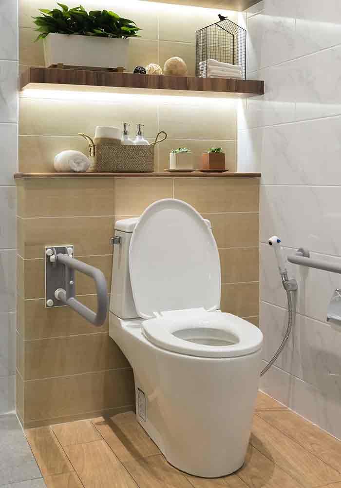 セントラル浄水器「ソリューヴ」を使うシーン画像
