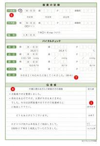 介護連絡ノートのイメージ画像2