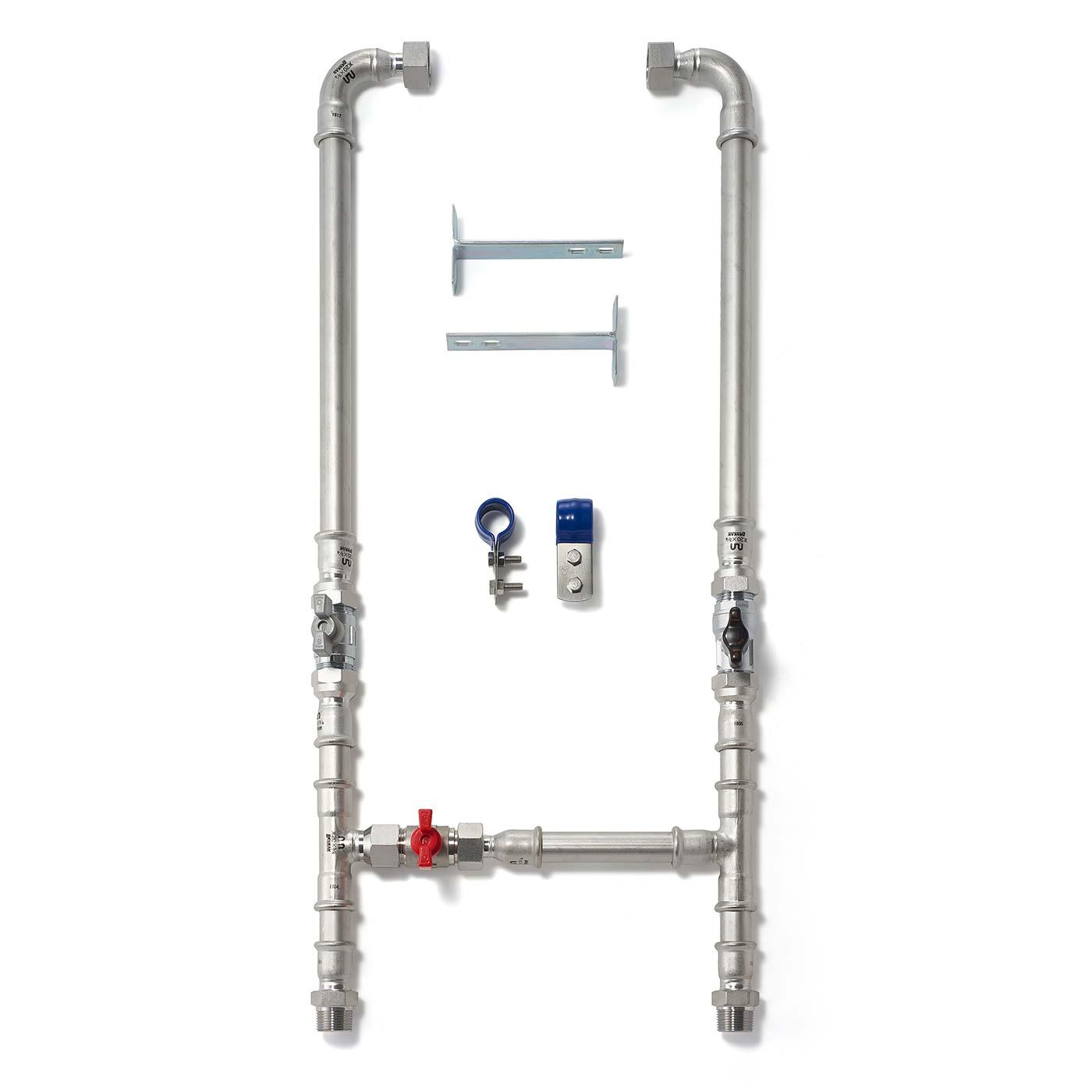 セントラル浄水器『ソリューヴ』ステンレス配管キット画像