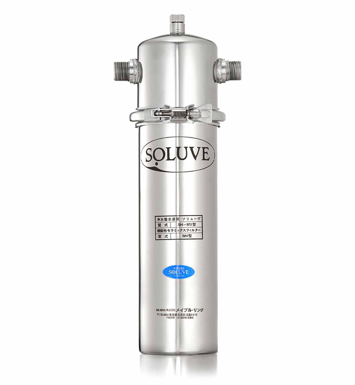 「セントラル浄水器『ソリューヴ』の宣材写真」画像