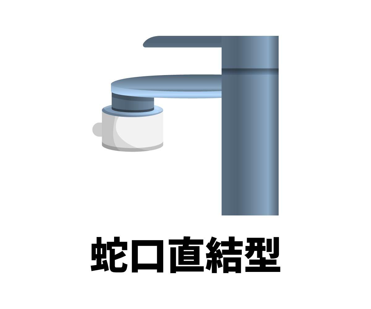 「蛇口直結型浄水器」画像