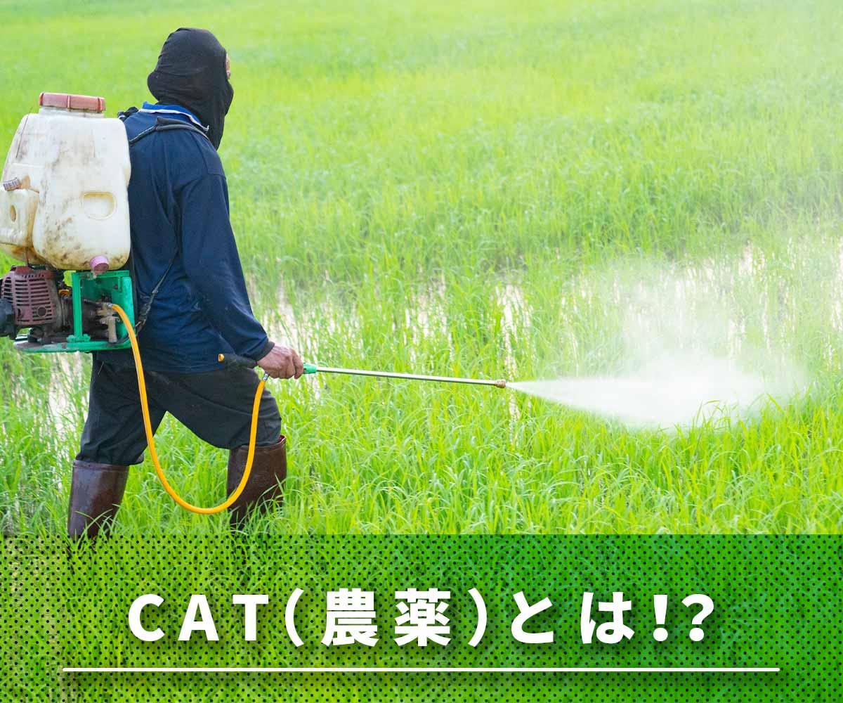 「【試験結果あり】浄水器で除去できる農薬(CAT)とは?」画像
