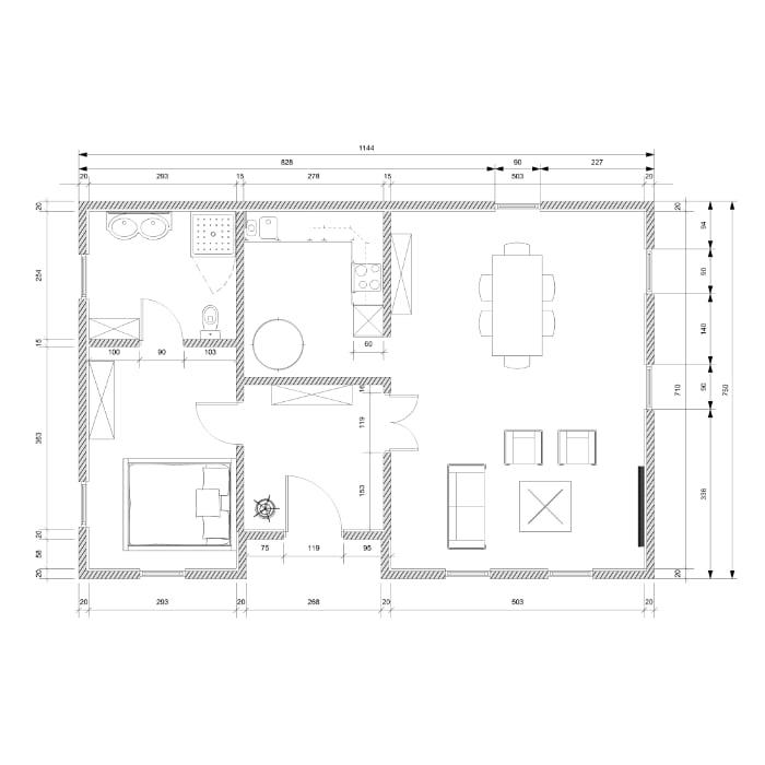 セントラル浄水器『ソリューヴ』戸建て住宅設計図面見本3